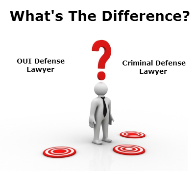 Difference Between an OUI Defense and a Criminal Defense ...